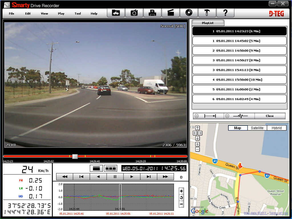 smart drive recorder view