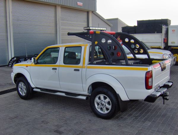 One of DVE's Range of Rollover Protection Systems